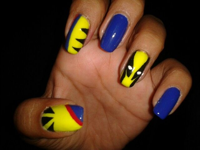 Love wolverine nail art