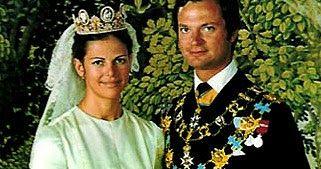 The Royal Order of Sartorial Splendor: Wedding Wednesday: Queen Silvia's Gown