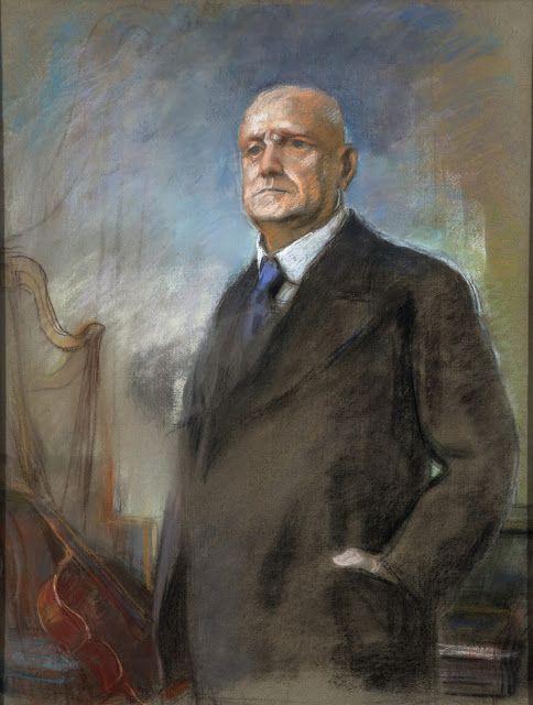 Eero Järnefelt (1863-1937), Portrait de Jean Sibelius.