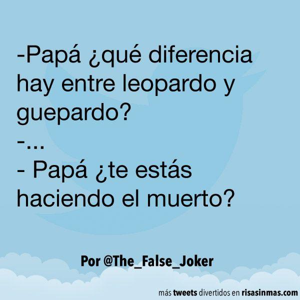 Diferencia entre leopardo y guepardo. #humor #risa #graciosas #chistosas #divertidas