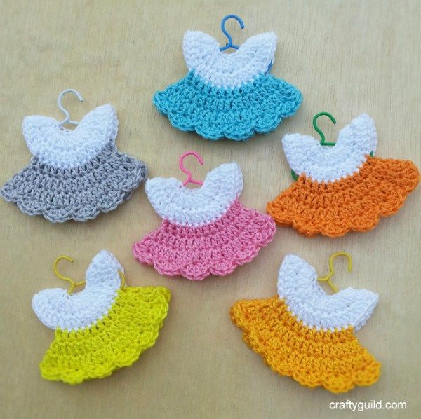 how to crochet a mini dress