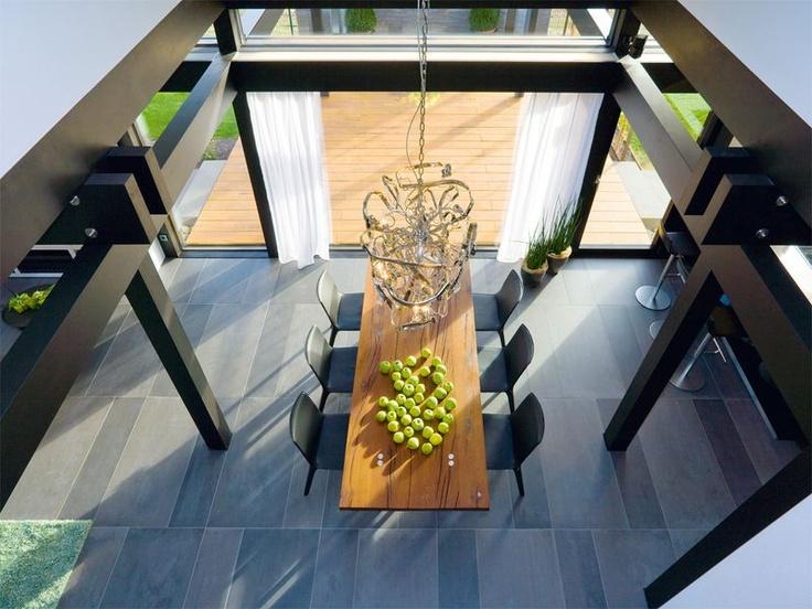 1000 images about casa prefabbricata huf haus art interni for Bauhaus case in legno