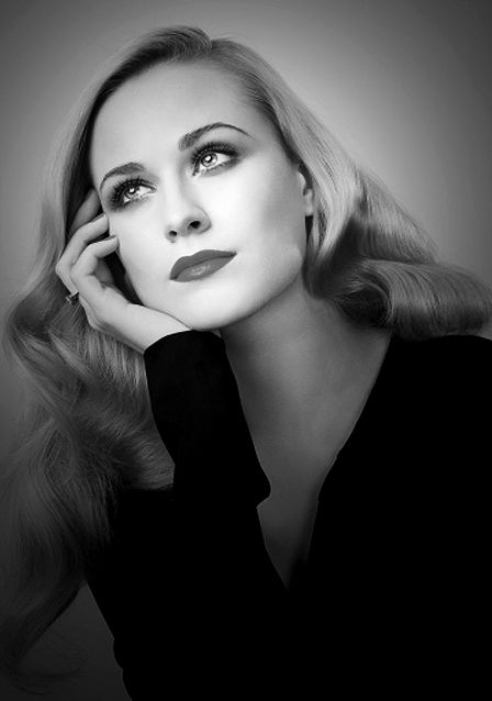 Evan Rachel Wood. I don't think she could be any more perfect.
