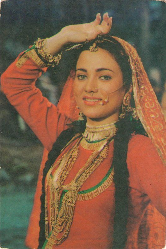 Mandakini (b. 30 July 1969 as Yasmeen Joseph) is a former Bollywood actress. She had a brief, controversial career in Hindi movies and was rumoured to have a relationship with gangster Dawood Ibrahim. was born in an Indian family in Meerut. Her father is British Christian and her mother is a Kashmiri Muslim. - <3 Rhea Khan.