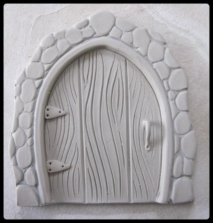Clay Fairy Door Tutorial pattern on Craftsy.com