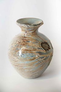 Svend Bayer Wood Fired Glazed Pot,. #SvendBayer.