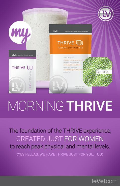 thrive for men weight loss