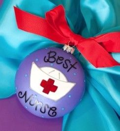 Thank your nurse for taking good care of you with this cute Best Nurse Ornament! Professions and Obsessions Ornaments are cleverly designed to add personalization to the back like a name and a date. Each ornament is perfectly packaged with a matching gift box and coordinating tied ribbon for easy gift giving and safe storage.
