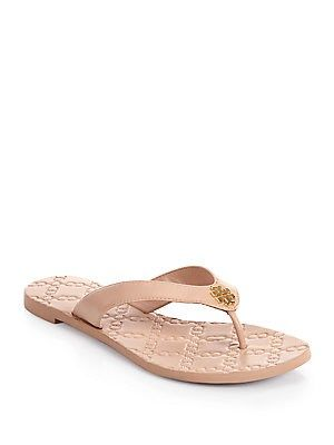 12244148b45f Tory Burch Monroe Leather Thong Sandals. Tory Burch Monroe Leather Thong  Sandals Wedge Flip Flops