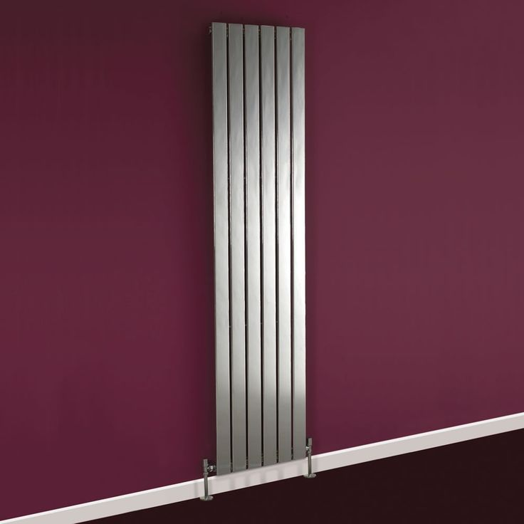 This Super Shiny Silver Radiator Is Great Against Purple Decor Super Stuff Pinterest