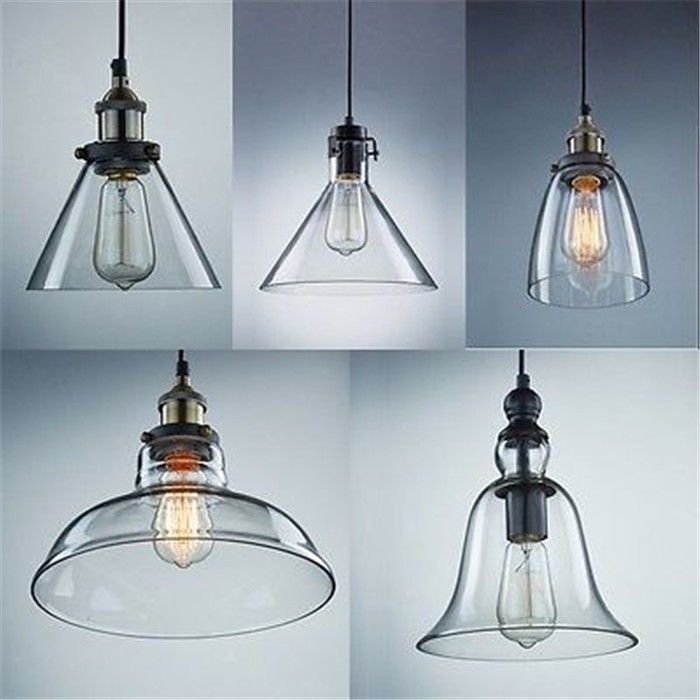 industrial pendant light vintage ceiling lamp new glass lamp shade light fixture