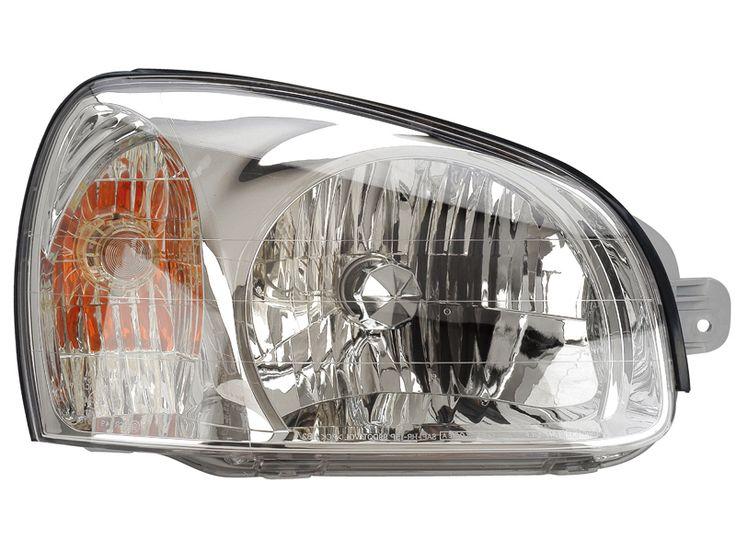 2001-2003 Hyundai Santa Fe Passenger Side Headlight: 2001-2003 Hyundai Santa Fe Passenger Side Headlight #CarHeadlights #AutoHeadlights