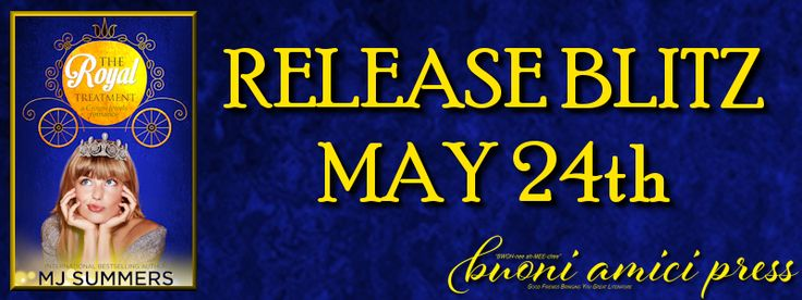 {Release Blitz} The Royal Treatment By MJ Summers   Title: The Royal Treatment (A Crown Jewels Romance Book 1)  Author: MJ Summers  Genre:Romantic ComedyWomen's Fiction Contemporary Romance  Release Date: May 23 2017  Hosted by: Buoni Amici Press LLC.  Enough laughs to satisfy fans of Bridget Jones. Enough sparkly shoes and breathtaking ball gowns for fans of Cinderella  Twenty-eight-year-old Tessa Sharpe a.k.a. The Royal Watchdog hates everything about Prince Arthur. As far as shes…