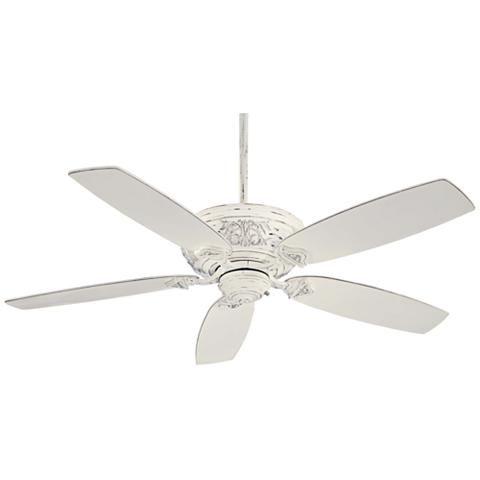 54 minka aire classica provencal blanc ceiling fan