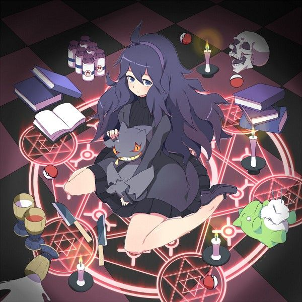 Hex Maniac and Banette