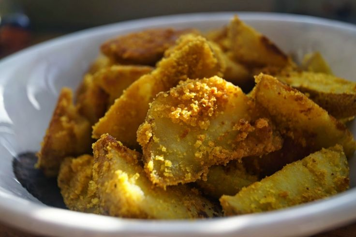 Coconut and Turmeric Roast Potatoes [Vegan, Gluten-Free] | One Green Planet