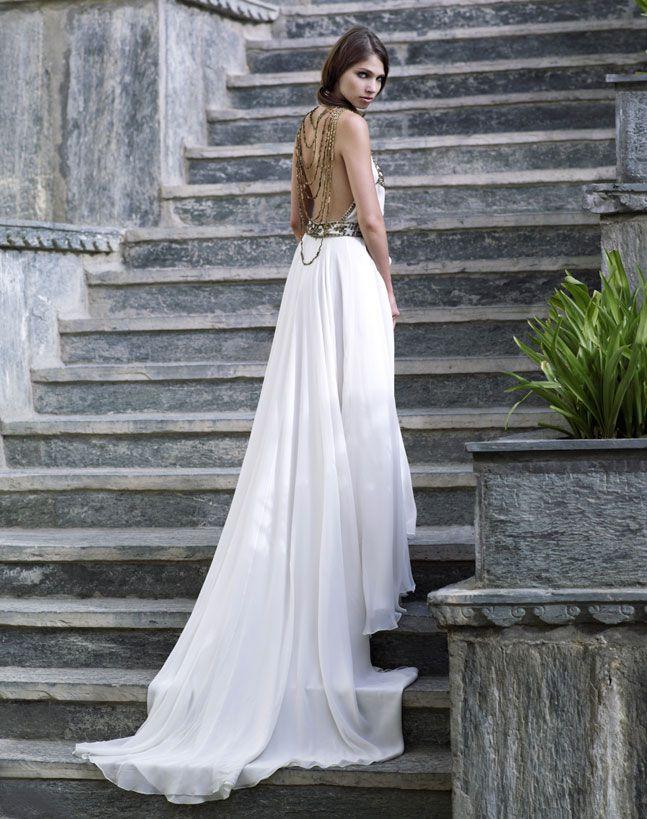 Amanda Wakeley, mariée, bride, mariage, wedding, robe mariée, wedding dress, white, blanc