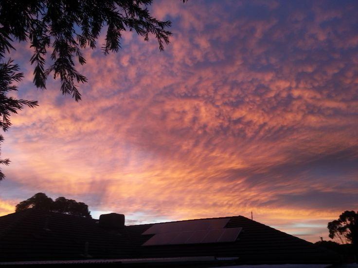 Sunrise at Golden Grove, Adelaide - Easter 2015