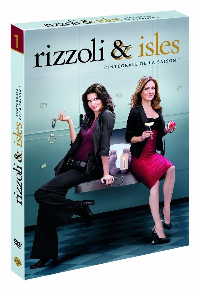 RIZZOLI ET ISLES   SAISON 1   ANGIE HARMON & SASHA ALEXANDER   DVD