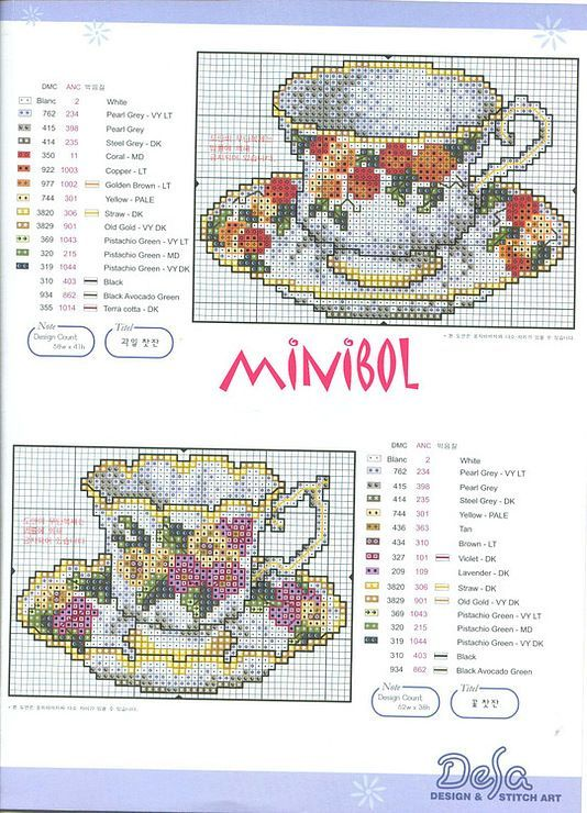 punto cruz cross stitch pattern: