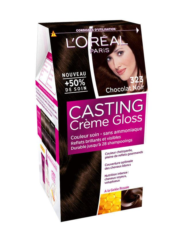 casting crme gloss n323 loral paris avec 50 de - Lazartigue Emulsion Colorante