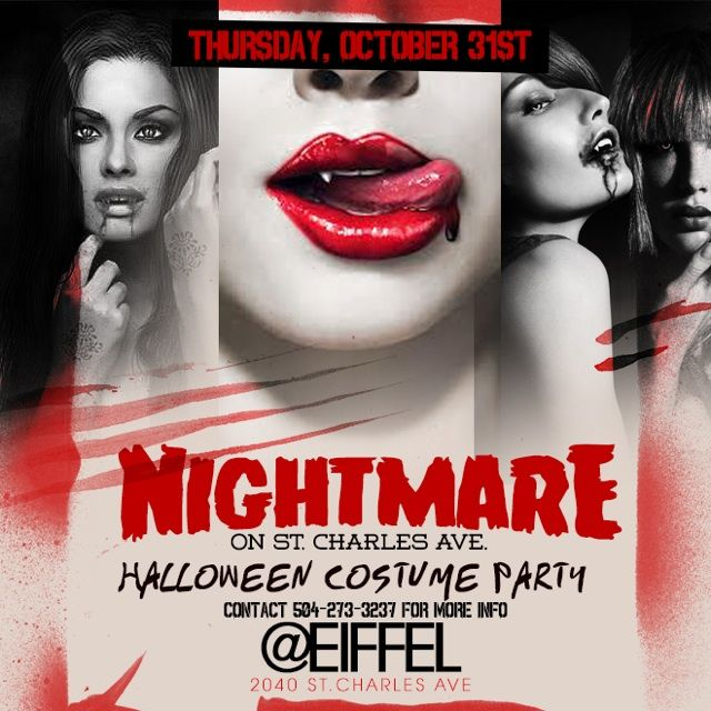 GET READY #Halloween Night IT'S GOIN DOWN @ #EiFFEL !!!! Sections are almost sold out TEXT 504-333-3472 to RSVP yours