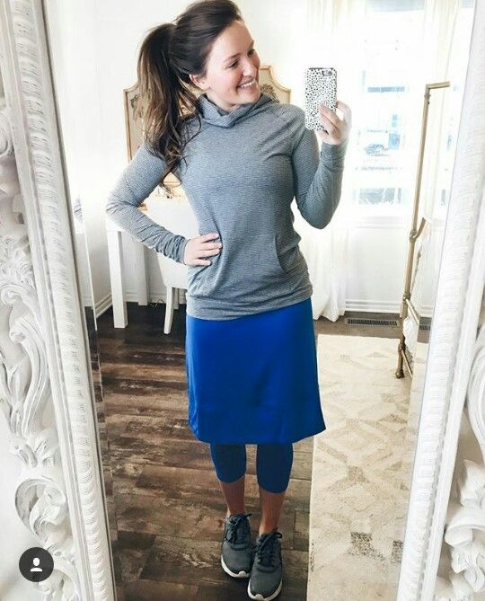 Modest workout outfit Follow the beautiful @courtneytoliver on pinterest and instagram for more modest outfits