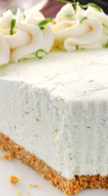 No Bake Margarita Pie