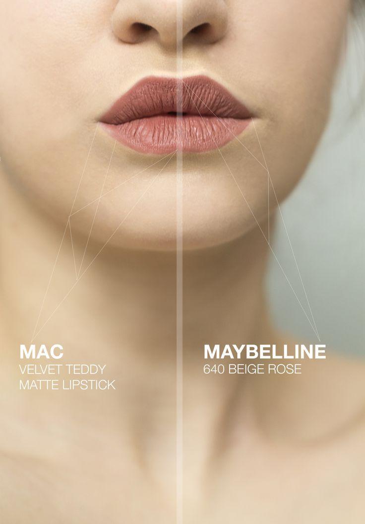 M•A•C DUPE AHOI!  Hola ihr, schon seit Jahren begleiten mich die Super Stay 24h Lippenstifte von Maybelline. Als 24h Daueresser, Plappermaul und Ups-ich-bin-ja-geschminkt-Idiot kann ich behaupten, dass diese heiligen Dinger so einiges aushalten und hoffentlich niemals aus dem Sortiment genommen werden. Der Zwilling von Velvet Teddy von Mac! Auch bekannt als einer von Kylie Jenners Lieblingslippenstifte.   Kim Ortiz Marin  Instagram: /k1marin/ #makeup #lipstick #lips #dupe