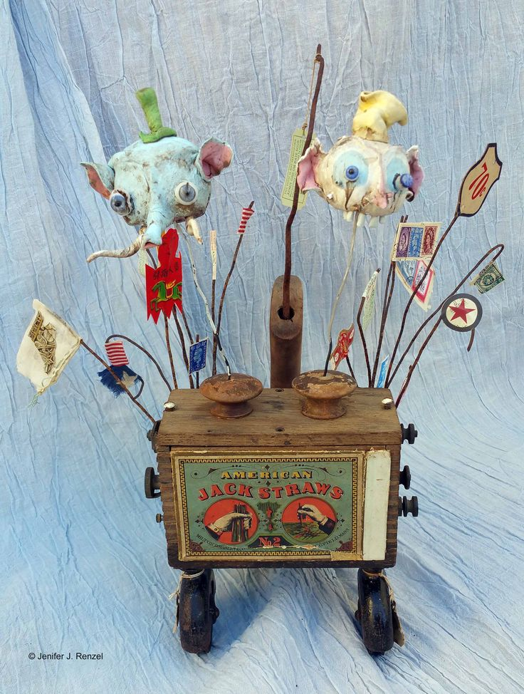Assemblage: Circus Contraption by bugatha1