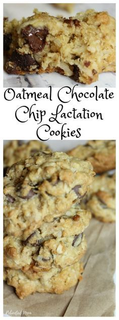 Lactation cookies are a treat for a new mommy ~ full of ingredients like brewers yeast and flaxseed meal, they are a great way to boost your milk supply and help keep you nourished the few few months after labor and delivery.