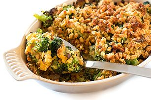 Wanna make a broccoli casserole even kids and picky eaters will like? Try this one, made with melted VELVEETA and cornbread stuffing mix.