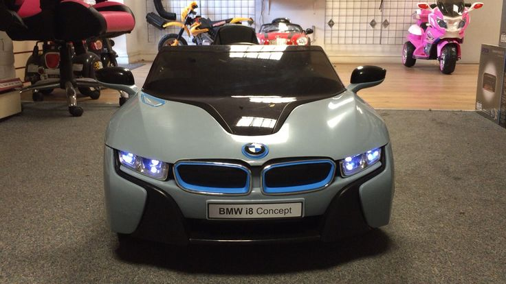 Bmw i8 licences ride on car 12v with remote @turborevs