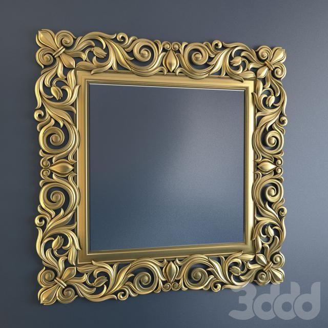 Зеркало квадратное 4224