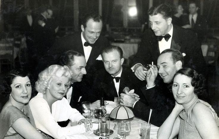 Jean Harlow, William Powell, William Haines, Jimmy Shields