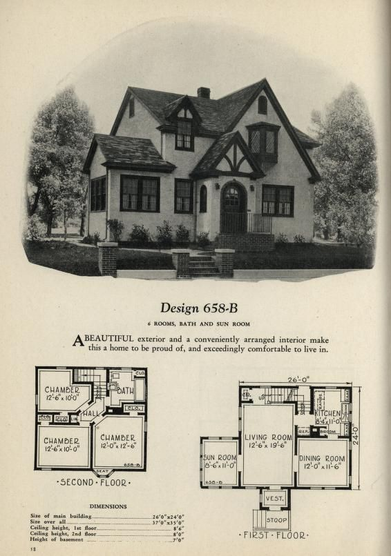 380 best Historic Floor Plans images on Pinterest Vintage homes