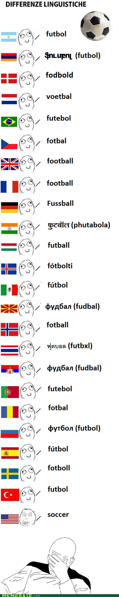 Soccer fail. Really though
