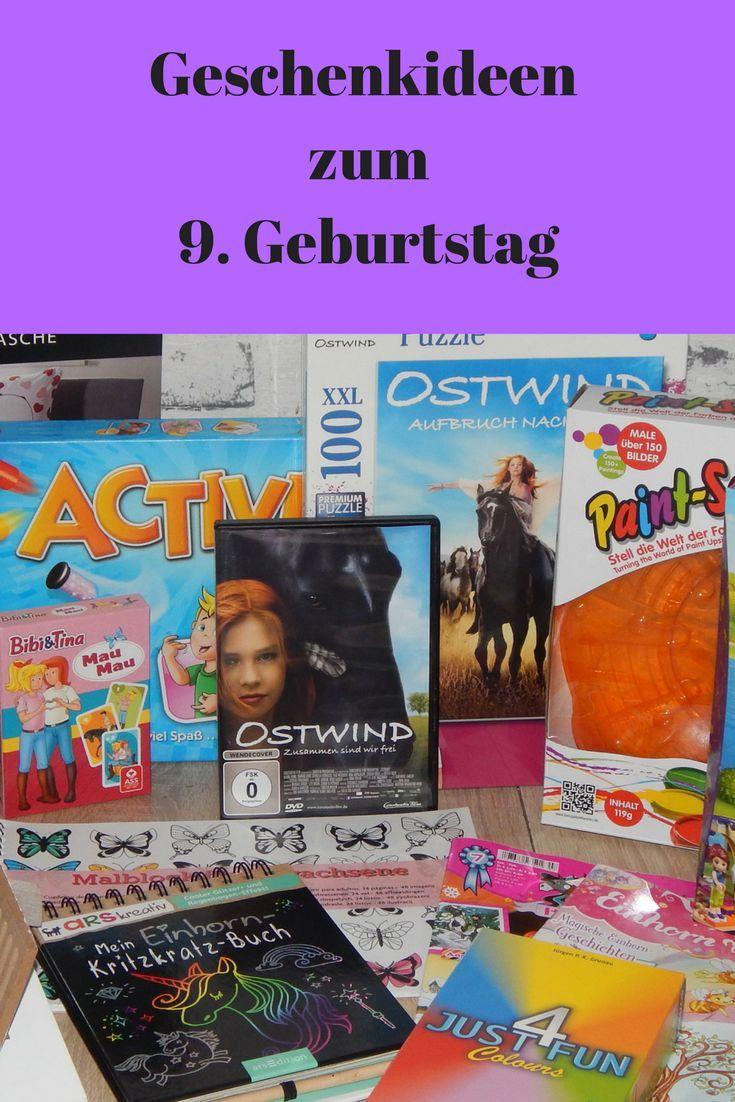 Geschenkideen Fur Madchen Zum 9 Geburtstag Gift Ideas Girls Birthday Geschenkideen Geburtstag Kinder Geschenke Fur Kinder Geschenke