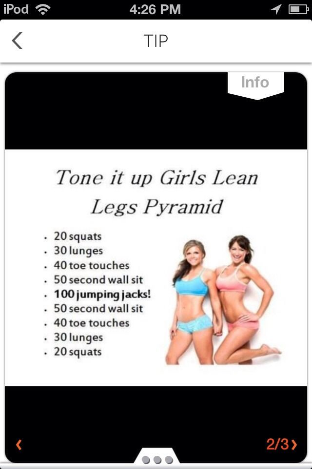 How to Get Legs Toned Fast ...we all have the potential to be what we want