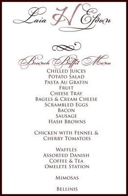 17 best ideas about Wedding Buffet Menu on Pinterest Bar