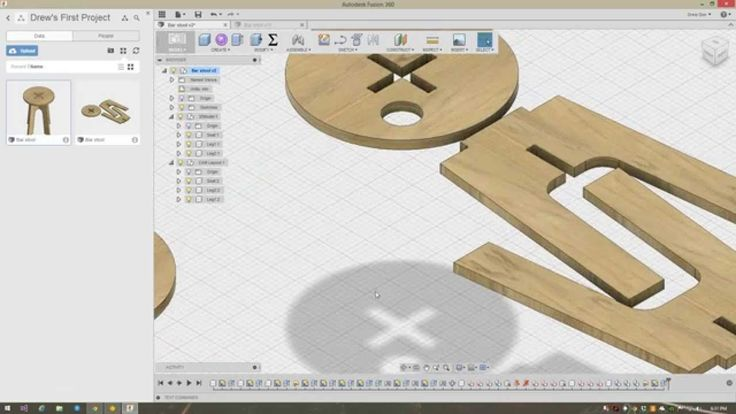 Fusion360 - Laying out flat sheet components to prepare for CAM