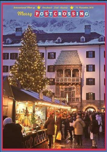 signed meetup card from Innsbruck, November 2016
