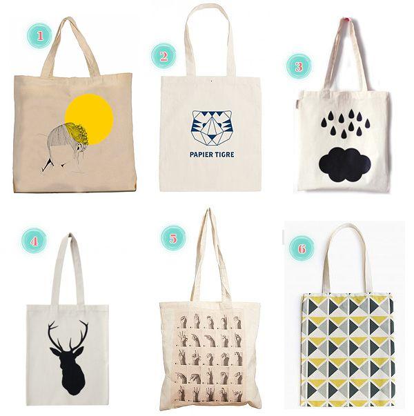 Les plus jolis tote bags du net | Delightson