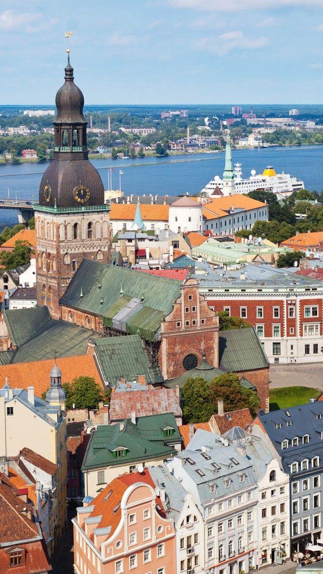 Where Grandpa Leon grew up (Old Riga, Latvia)