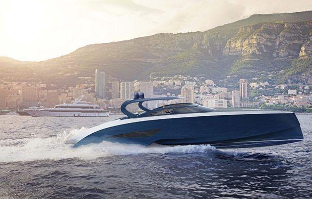 Bugatti a trecut de la Veyron la iahturi de lux: barca poartă ...
