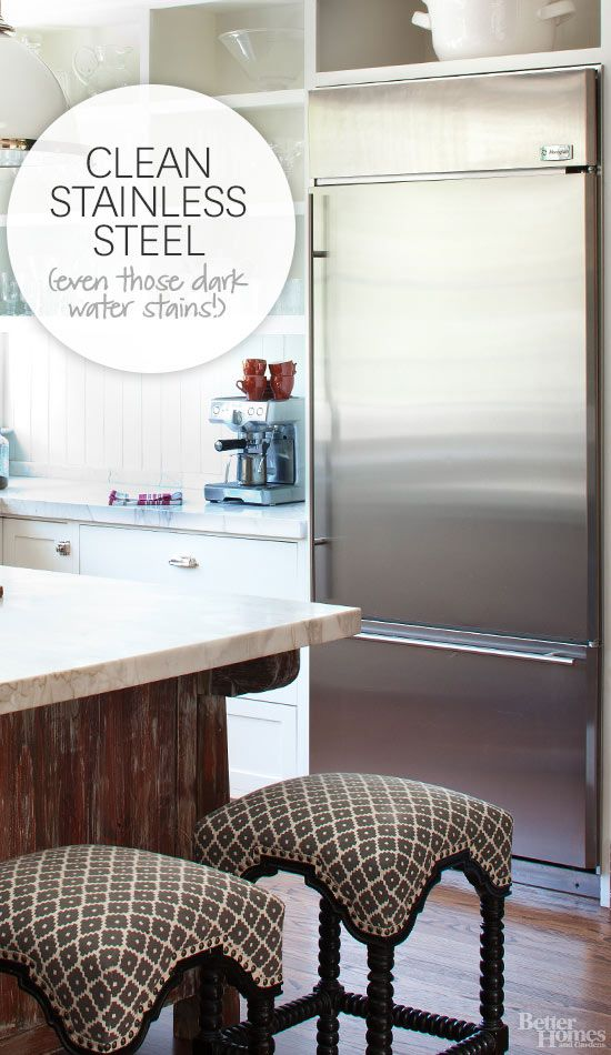 All that silver looks so sleek and professional -- except for the water-stains and fingerprints, right? Take care of them with our 7 expert tips for cleaning stainless steel.