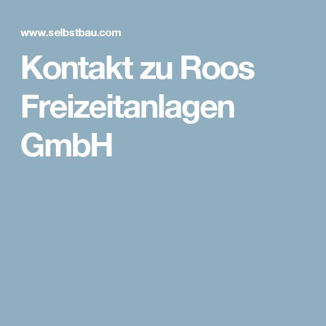 Kontakt zu Roos Freizeitanlagen GmbH