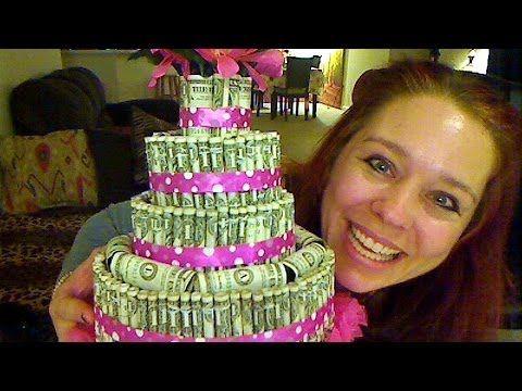 How To Make A Money Cake