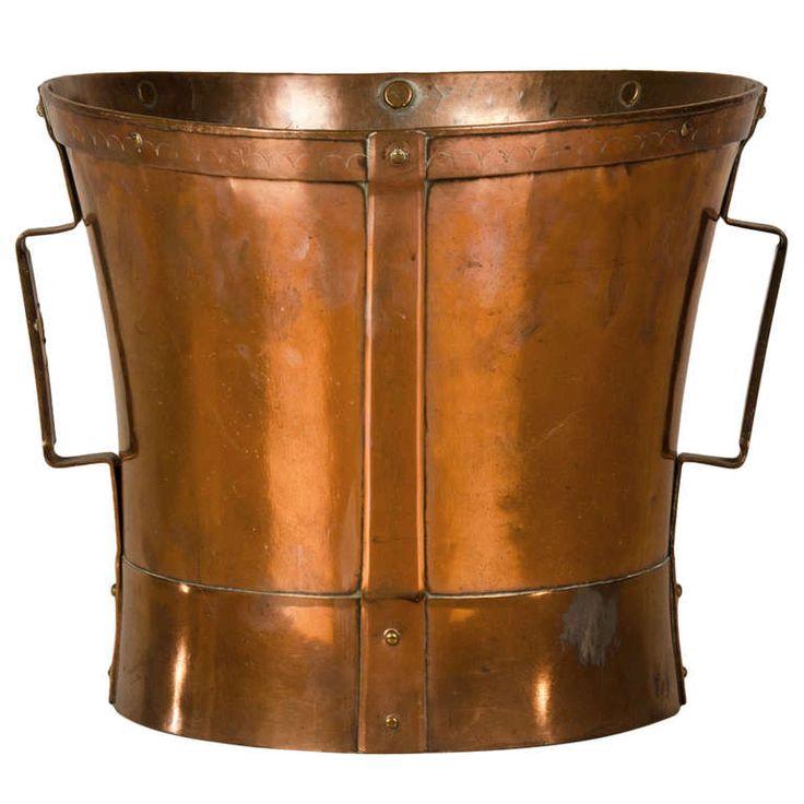 copper grain measure from France c.1870