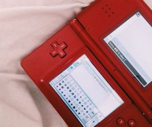 """You were such a geek."" He chuckled. ""I still am."" He says pulling out his DSI."